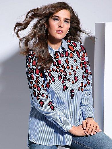 FRAPP - Bluse mit Hemdkragen