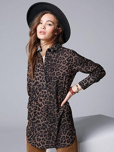 comma, - Tunika med leopardprint