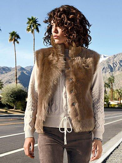 portray berlin - Reversible lambskin waiscoat