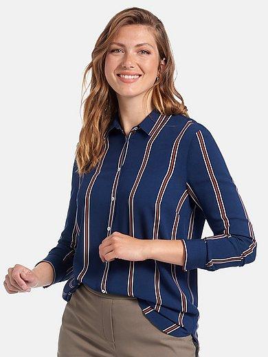 Anna Aura - Blouse met overhemdkraag en lange mouwen
