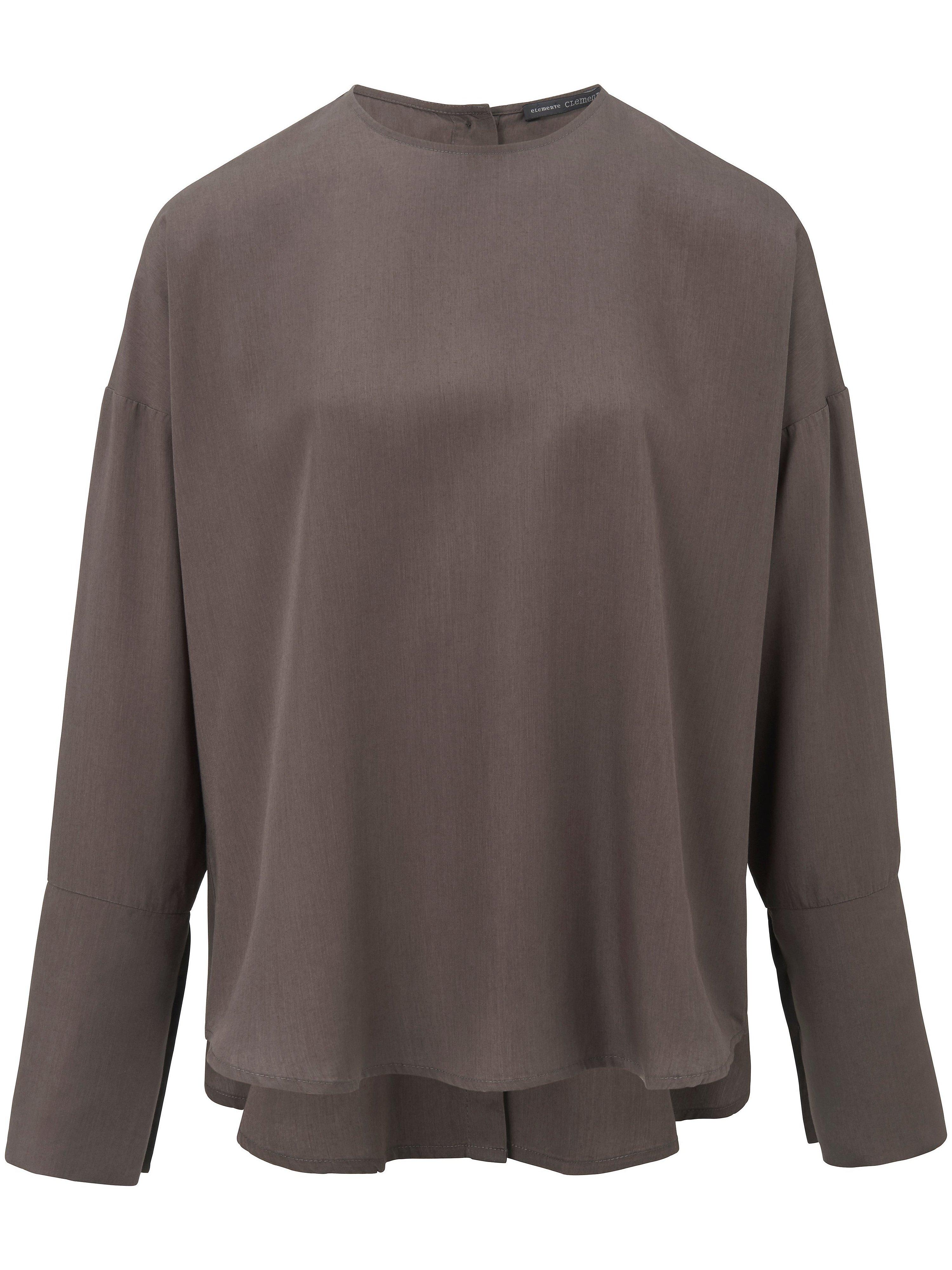 La blouse  elemente clemente vert taille 48
