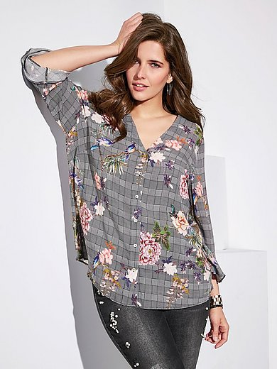 Via Appia Due - Blouse with 3/4-length sleeves