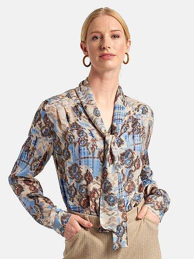 Basler - Skjorte med bindesløjfe