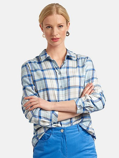 Basler - Shirt style blouse with check pattern