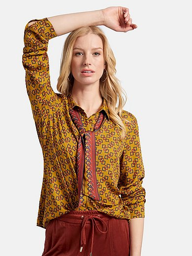 Basler - Blouse with long sleeves and graphic print