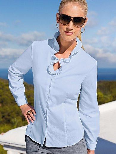 Eterna - Bluse mit V-Ausschnitt