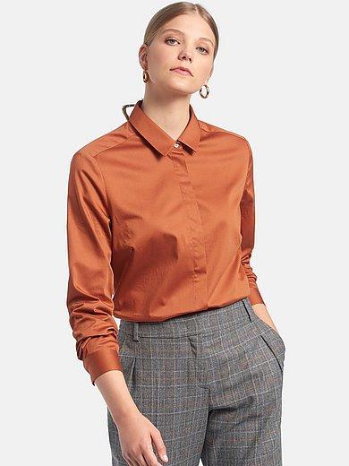 Fadenmeister Berlin - Skjorte med lange ærmer i 100% bomuld