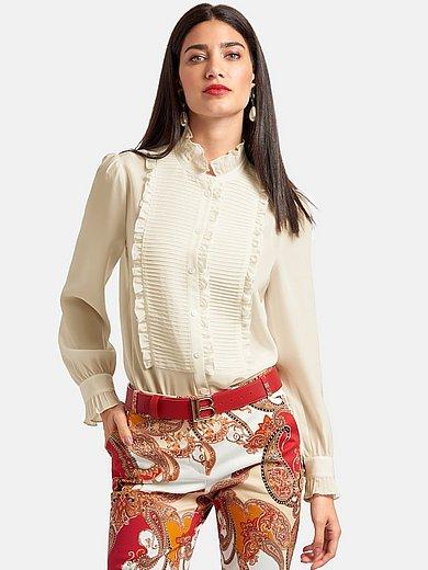 Laura Biagiotti Roma - Blouse van 100% zijde met lange mouwen