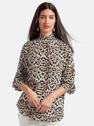 Laura Biagiotti Roma - Bluse zum Schlupfen aus 100% Seide