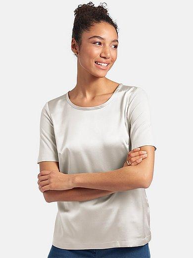 Peter Hahn - Shirt met korte mouwen en ronde hals