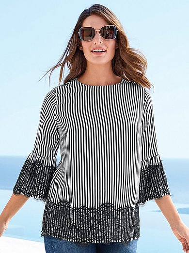 Emilia Lay - Blouse with ruffled sleeves