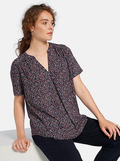 Peter Hahn - Shirt met korte mouwen en millefleursprint