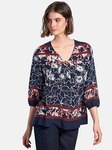 Betty Barclay - Bluse med blomstermotiver