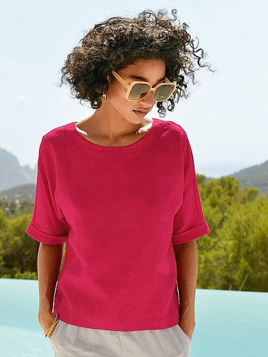 Peter Hahn - Pull-on style top in 100% linen
