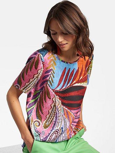 Laura Biagiotti Roma - Shirt van 100% zijde met korte mouwen