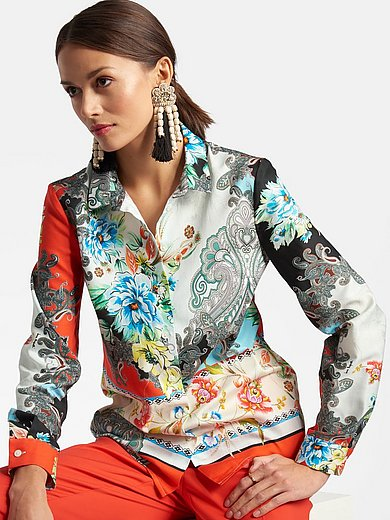 Laura Biagiotti Roma - Shirt style blouse in 100% cotton