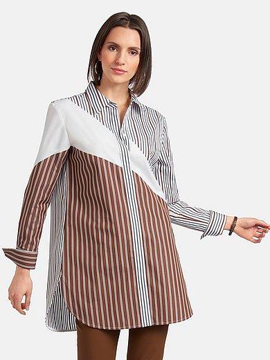 (THE MERCER) N.Y. - Lange blouse van 100% katoen met lange mouwen