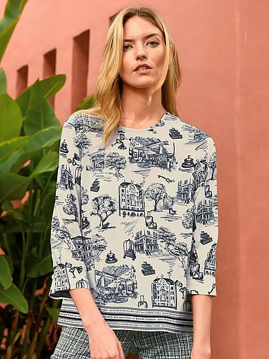 Riani - Blouse with hotel motifs