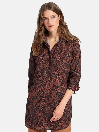 comma, - Tunic with long sleeves