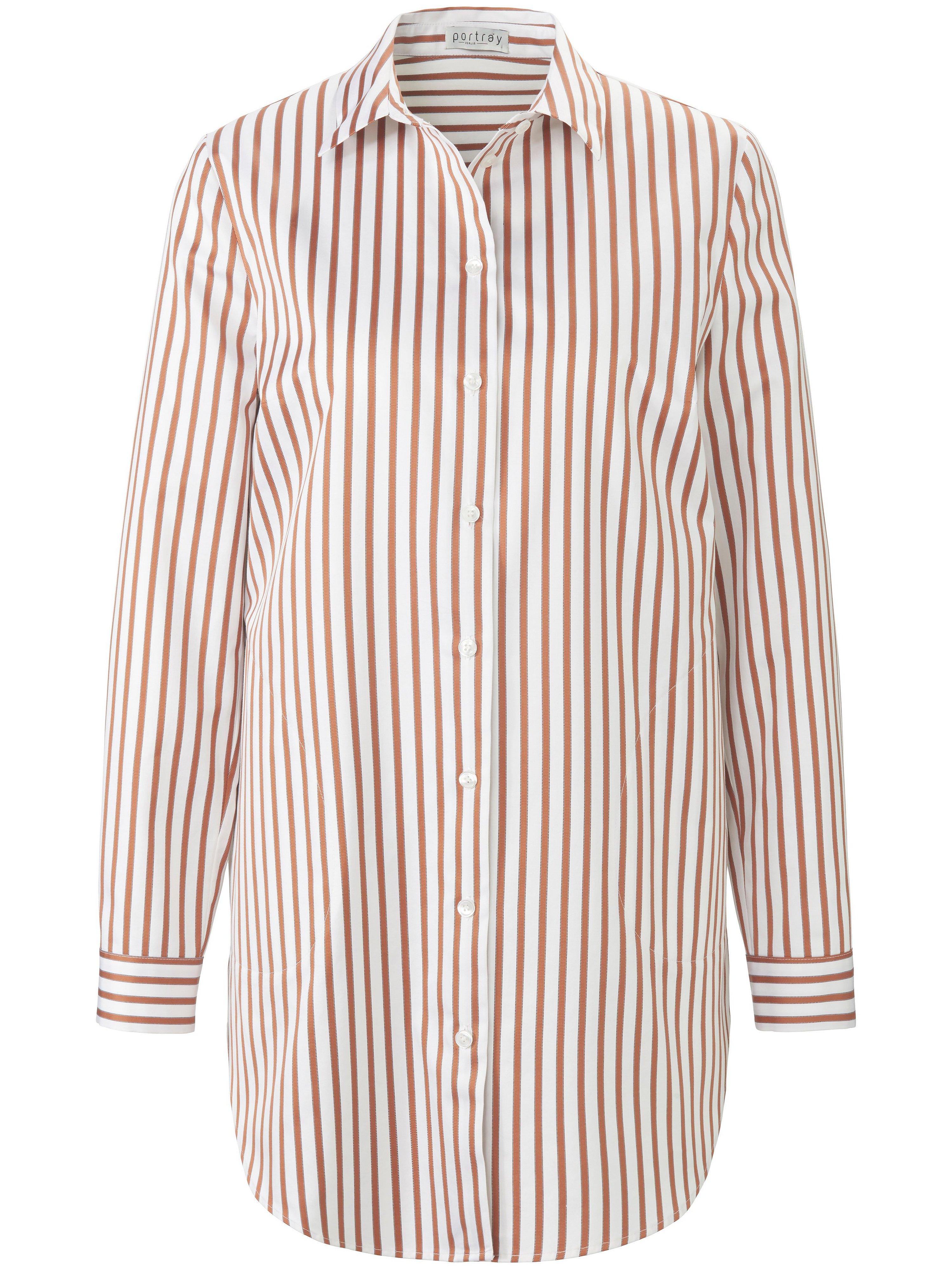 Long blouse long sleeves portray berlin white