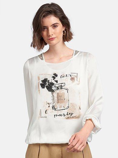 Just White - Blusen-Shirt mit Top