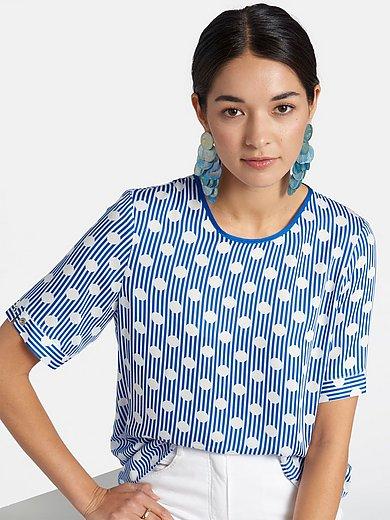 Basler - Bluse med polkaprikker