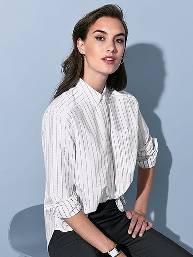 Strenesse - Bluse mit Hemdkragen