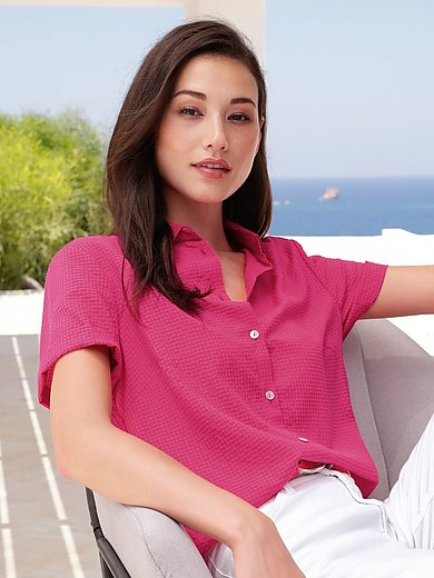 mayfair by Peter Hahn - Blouse with 1/2-length sleeves