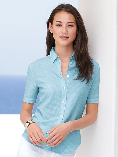 mayfair by Peter Hahn - Bluse mit 1/2-Arm