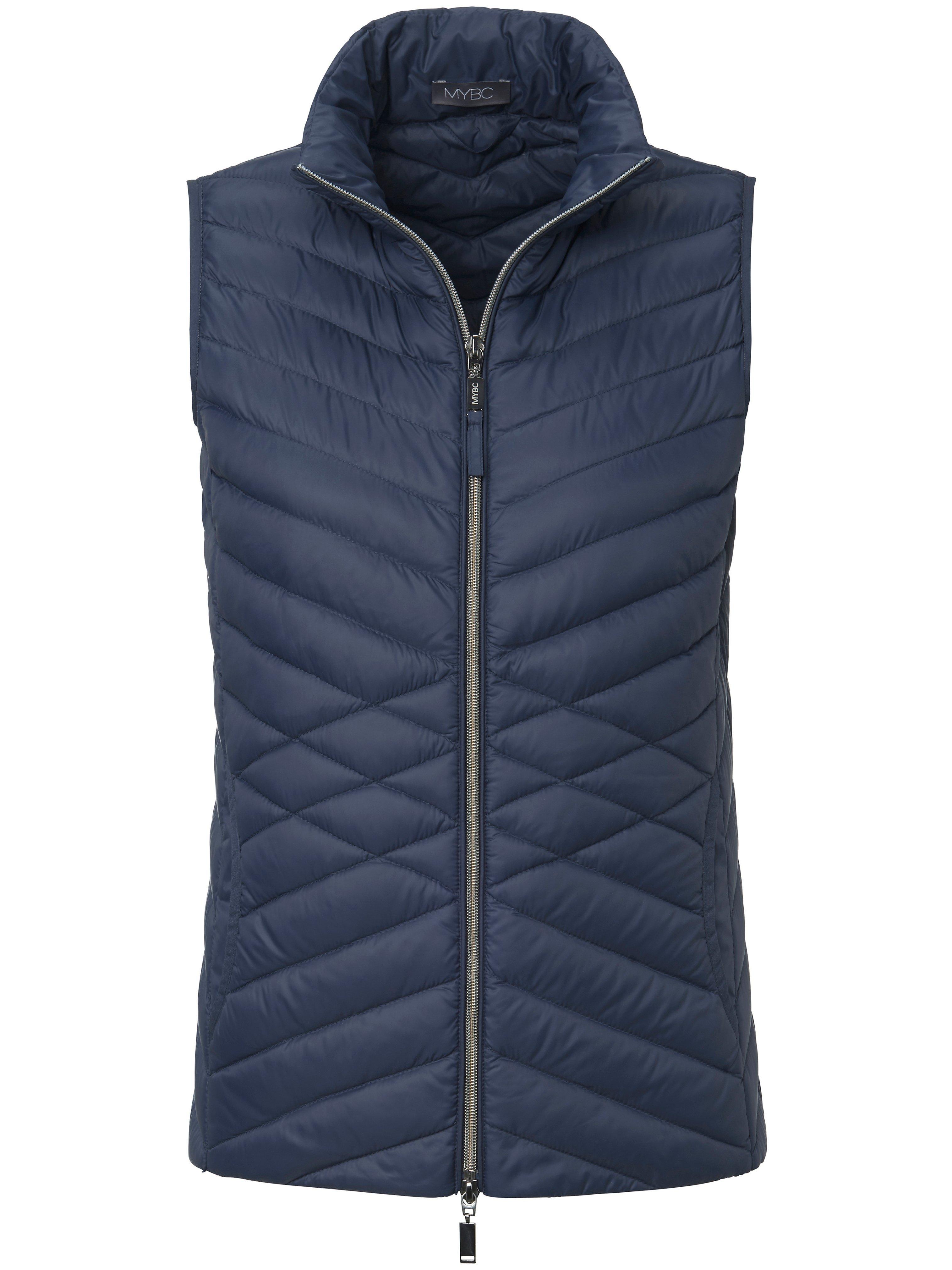 Damen Daunen-Steppweste MYBC blau | Plus Size |