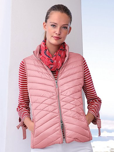 MYBC - Quilted down waistcoat with 2-way zip