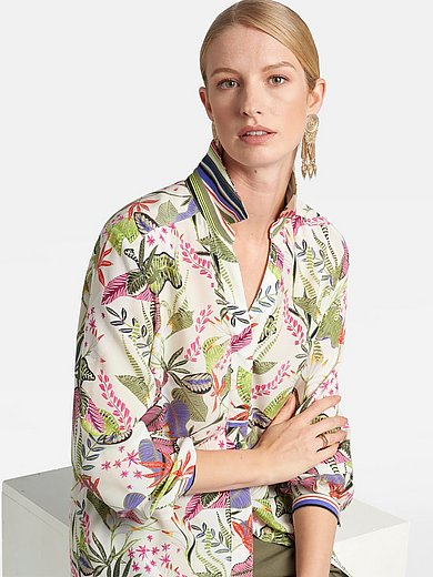Basler - Shirt style blouse with long sleeves