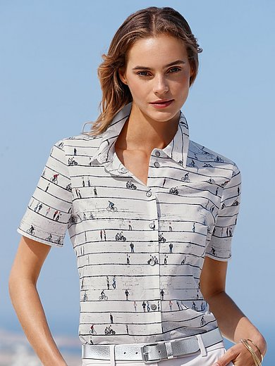 Peter Hahn - Shirt-style blouse