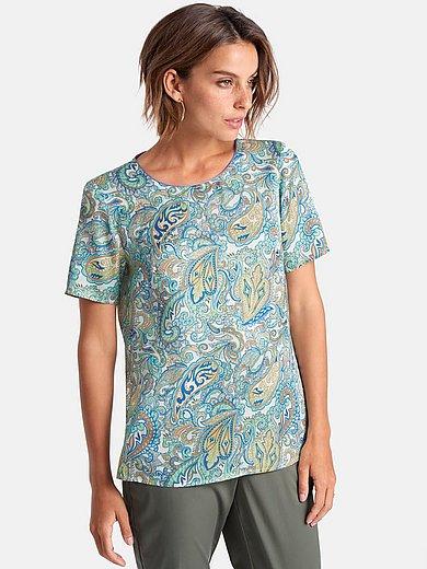 Peter Hahn - Le T-shirt à imprimé en filigrane