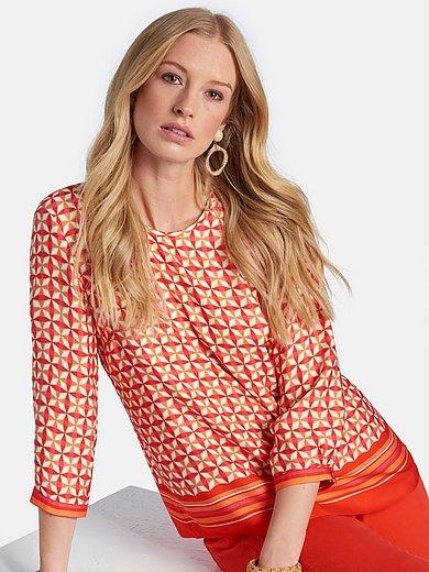 Basler - Bekvem skjorte med 3/4-ærmer