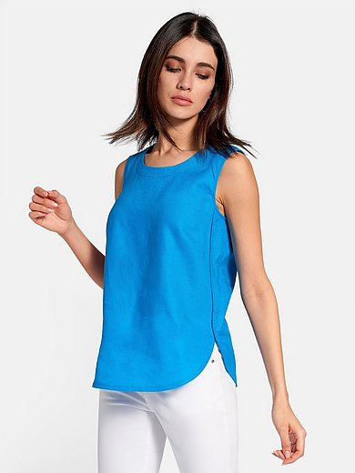 Peter Hahn - Linen top with wide straps