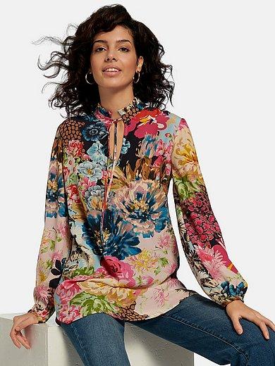 Laura Biagiotti Roma - Lange blouse met bloemenprint