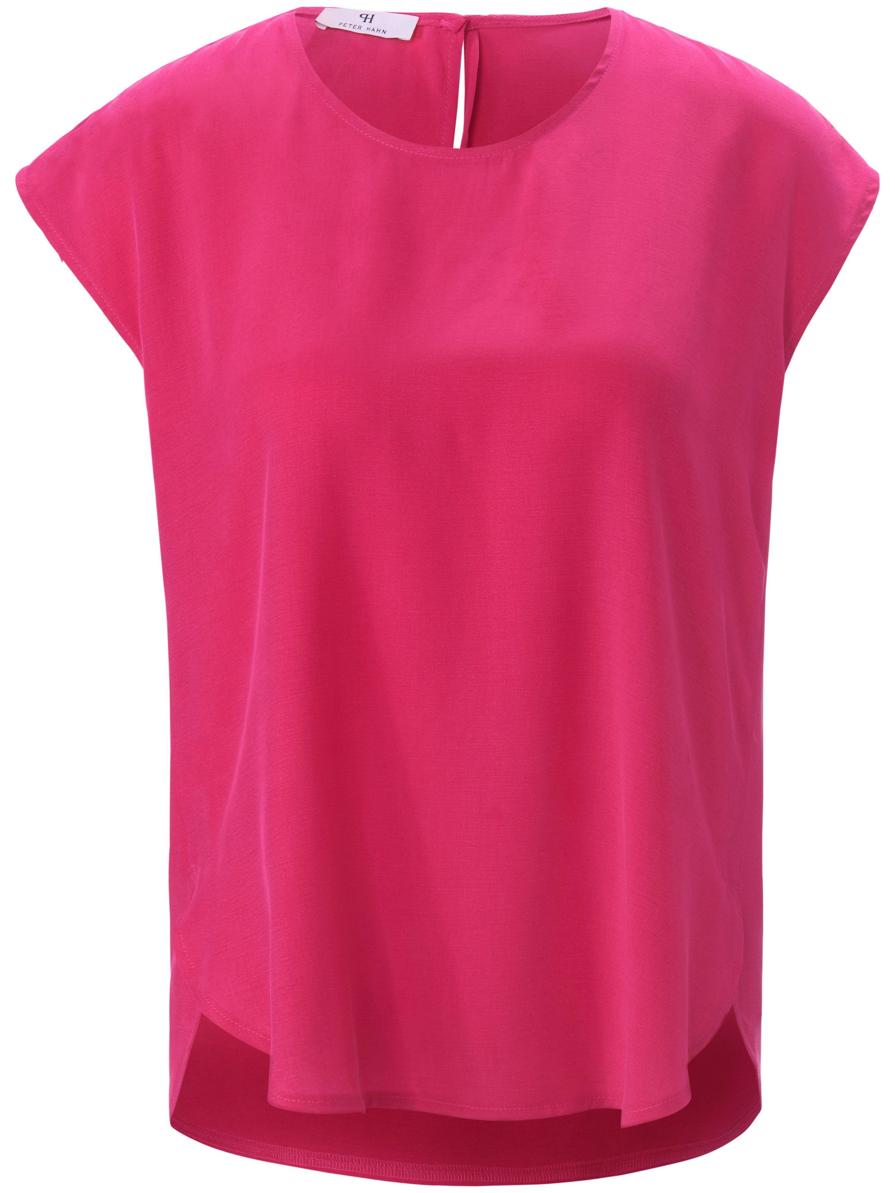 Shirt aangeknipte mouwen Van Peter Hahn roze