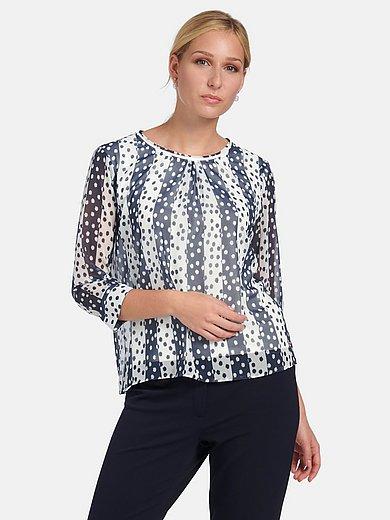 Basler - 2-in-1-blouse met 3/4-mouwen en ronde hals