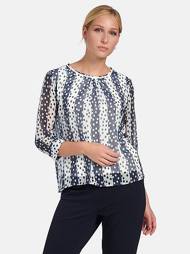 Basler - 2 in 1 blouse with 3/4-length sleeves