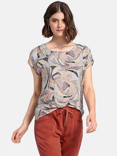 Peter Hahn - Shirt met aangeknipte mouwen en print