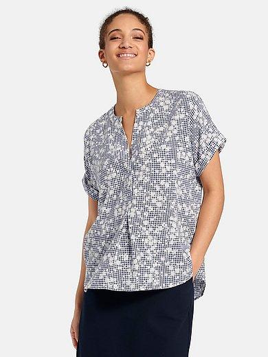 Peter Hahn - Blusen-Shirt mit überschnittener Schulter
