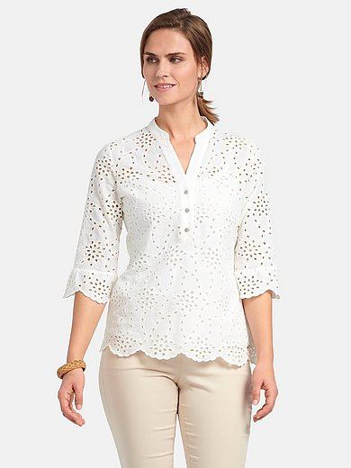 Basler - Blouse in 100% cotton