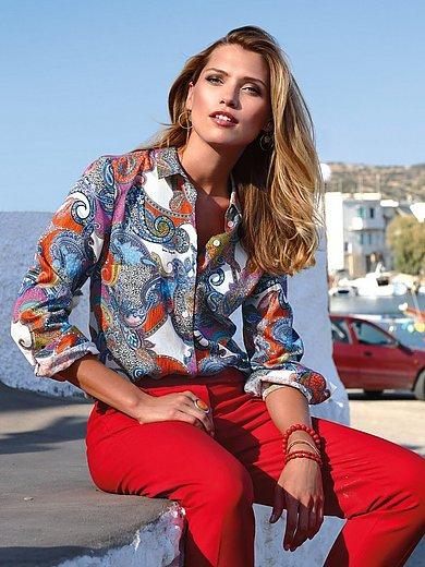 Laura Biagiotti Donna - Bluse mit Hemdkragen