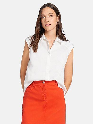 DAY.LIKE - Mouwloze blouse met overhemdkraag