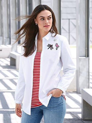 Emilia Lay - Bluse mit kleinem Hemdkragen
