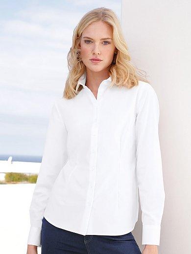 Eterna - Bluse mit Hemdkragen