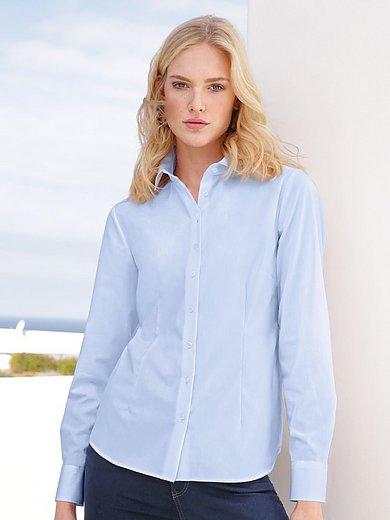 Eterna - Overhemdblouse met lange mouwen