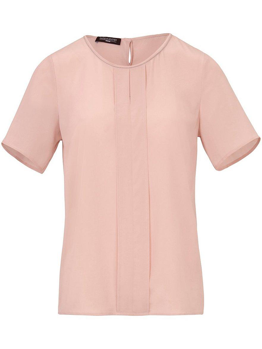 fadenmeister berlin - blusen-shirt aus 100% seide mit 1/2