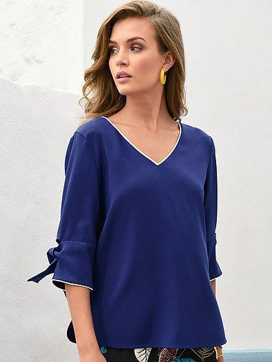 Laurèl - Bluse mit V-Ausschnitt